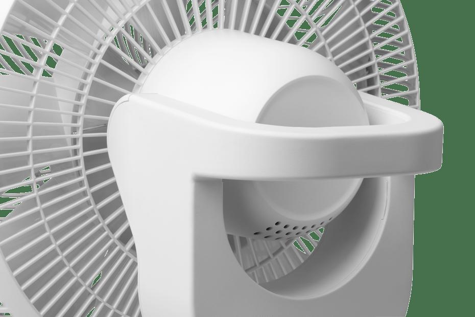 Duux Whisper Flex Smart Ventilateur sur pied /à hauteur r/églable 51-88 cm 26 vitesses tr/ès silencieux 13 dB Mode nuit 2 W avec batterie Noir